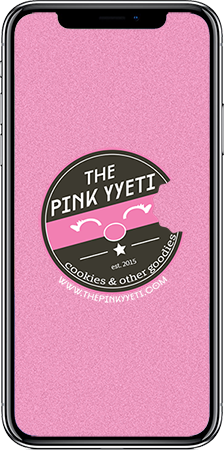 The Pink Yyeti Mobile